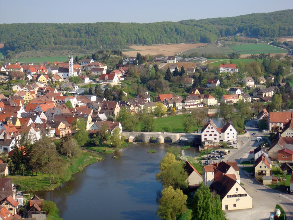 Harburg an der Wörnitz, Ursprungsort meiner Rieß Linie.